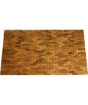 Decorative Wood Doormat