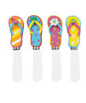 Flip Flop Cheese Spreader Set