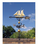 Rooftop Weathervane - Yacht