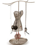 Umbra Venus Jewelry Stand - Satin Nickel