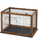 Richell Wood Pet Pen 90-60 Combo