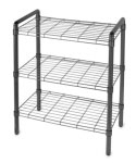 Black Wire Shelving Unit