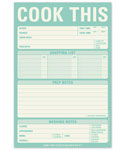 Cook This Paper Notepad