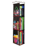 Hanging Locker Organizer - Black