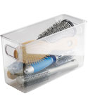 Clear Plastic Storage Bin - 10 inches by 4 inches