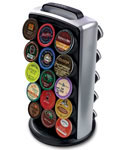 Rotating 30 K-Cup Storage and Display Tower
