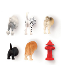 Dog Butt Refrigerator Magnet - Set of Six