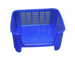 Stackable Storage Bins - Blue Frost