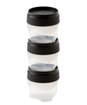 Mini Food Storage Containers - Screw-on