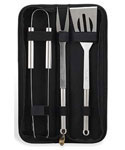 Three Piece BBQ Tool Kit and Storage Case