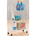 3-Tier Slim Laundry Cart