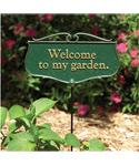 Garden Sign - Welcome To My Garden