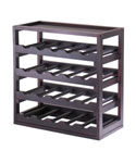 20-Bottle Tray Wine Rack