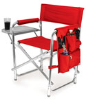 Folding Camping Chair - Red