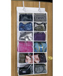 6 Pocket Over the Door Purse Organizer