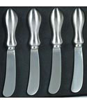 Stainless Steel Cheese Spreaders
