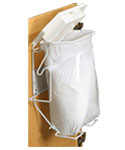 Rack Sack Bathroom Trash Can System