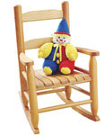 Childrens Rocking Chair - Natural Beechwood