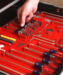 Tool Drawer Liner and Toolbox Organizer System
