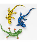 Lizard Refrigerator Magnets - Set of 3