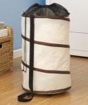 Pop Up Rolling Hamper