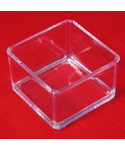 Mini Acrylic Storage Box Drawer Organizer - 3 Inch