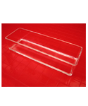 Acrylic Drawer Organization Bin - 12 Inch