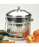 Stainless Steel Jumbo Compost Pail