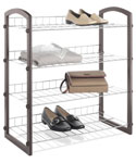 Free Standing Closet Shelves - 4 Tier