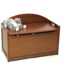 Wooden Toy Chest - Cherry