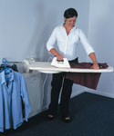Fold Out Ironing Board and Laundry Center