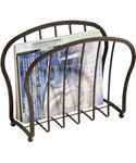 Floor Magazine Rack - Oil Rubbed Bronze