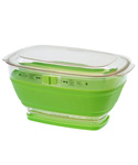 Collapsible Storage Container and Colander