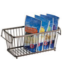 York Stackable Pantry Basket - Bronze