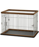 Richell Wood Pet Pen - Autumn Matte