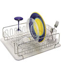 InterDesign Stainless Steel Dish Rack