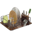 InterDesign Dish Drainer Rack - Bronze