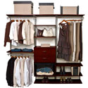freedomRail Double Hang Closet System