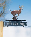 Address Mailbox Sign for Ornament - One-Line