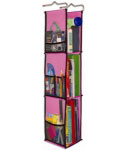 Hanging Locker Organizer - Pink