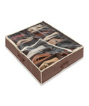Under bed Shoe Organizer - Brown