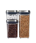Stainless Steel POP Lid Container Set