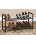 Two-Tier Shoe Rack