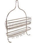 York Hanging Shower Caddy - Satin