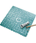InterDesign Bath Mat - Blue