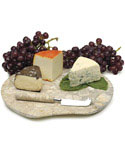 Fossil Marble Cheese Board Set