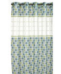 Hookless Shower Curtain - Mosaic Jade