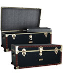 Vintage 36 inch Steamer Trunk With Tray