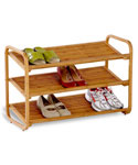 Bamboo Shoe Rack - 3 Tier