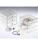 Three-Drawer Acrylic Storage Chest
